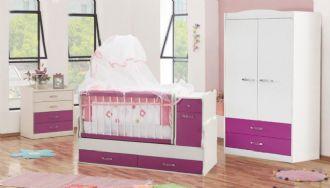 Bella Pink Babyzimmmer